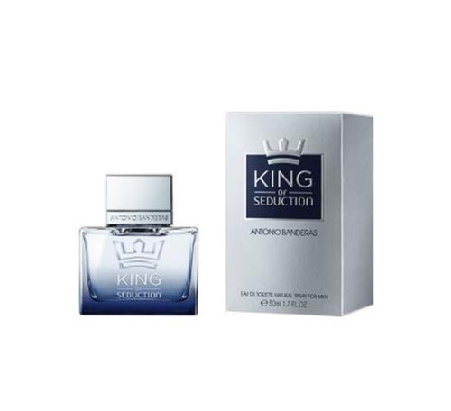 AB KING OF SEDUCTION By ANTONIO BANDERAS 1.7 Oz EDT SP For Men New In Box