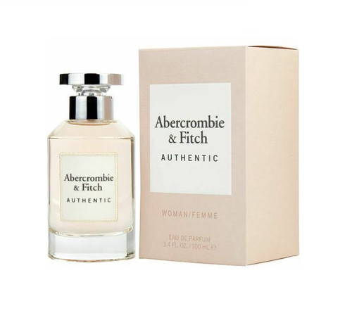 ABERCROMBIE AUTHENTIC By ABERCROMBIE & FITCH 3.4 Oz EDP SP For Women New In Box