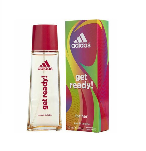Authentic ADIDAS GET READY By ADIDAS 1.7 Oz EDT SP For Women New In Box
