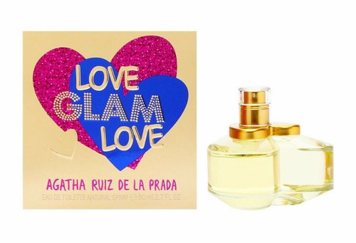 Authentic AGATHA RUIZ PRADA LOVE GLAM 2.7 Oz EDT SP For Women New In Box