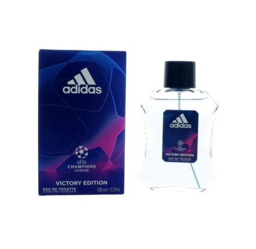 ADIDAS UEFA CHAMPIONS LEAG VICTORY EDITION 3.4 Oz EDT SP For Men New In Box