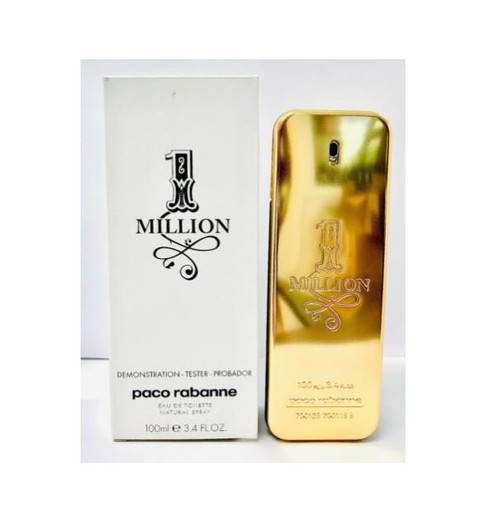 Authentic PACO ONE MILLION By PACO RABANNE 3.4 Oz EDT SP For Men New In Tester