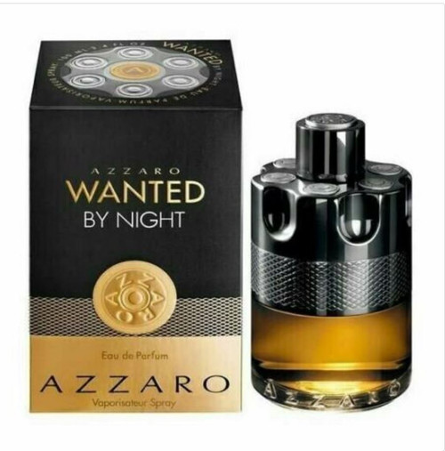 Authentic Azzaro Wanted By Night Cologne by Azzaro for Men EDP 5 oz New In Box