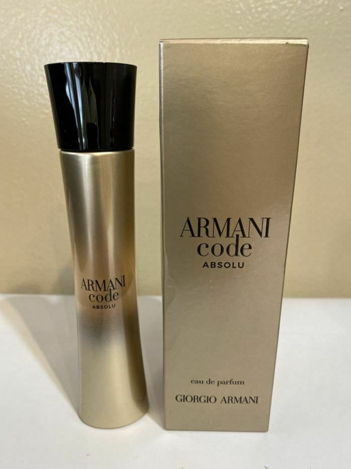 ARMANI CODE ABSOLU Perfume By GIORGIO ARMANI for Women EDP 1.7 oz New In Box