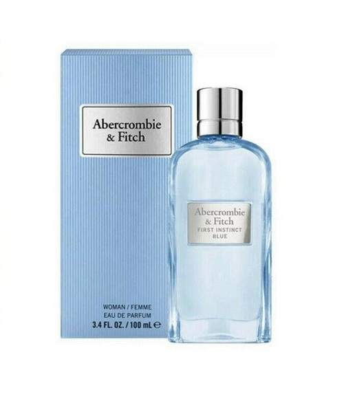 FIRST INSTINCT BLUE By ABERCROMBIE & FITCH for Women EDP 3.4 oz New In Box