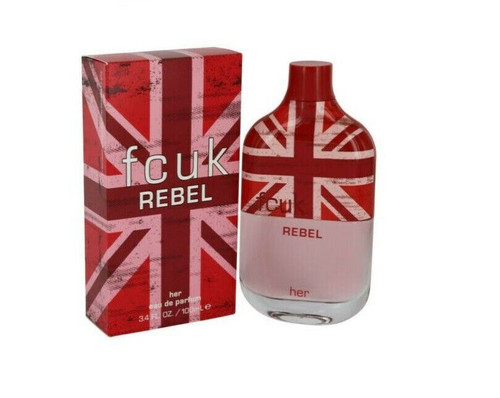 Authentic FCUK REBEL By FRENCH CONNECTION For Women EDP 3.4 oz SP New In Box