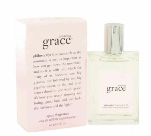 Authentic Amazing Grace Perfume by Philosophy for Women EDT 4 oz New in Box