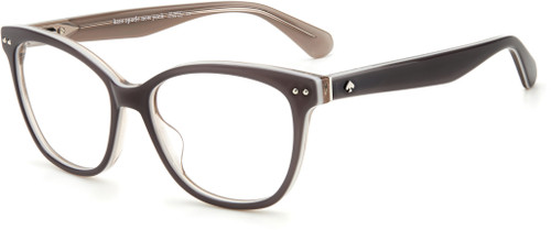 Authentic Kate Spade Adrie 0KB7 Gray Square Women's Eyeglasses