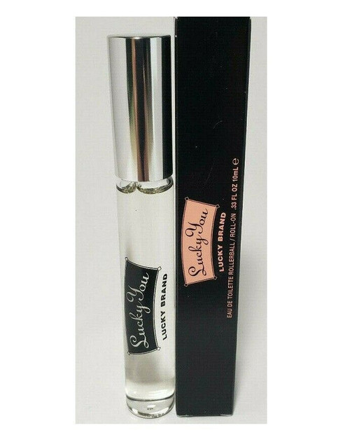 Authentic LUCKY YOU By LIZ CLAIBORNE For Women 10 ML EDT ROLL-ON New In Box