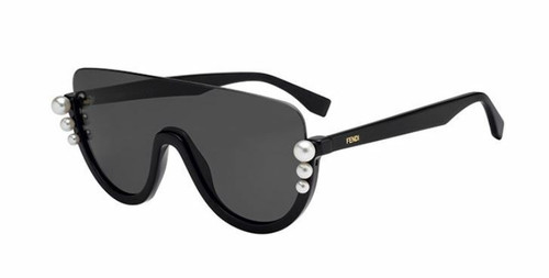 Authentic Fendi  Ff 0296/S 0807/IR Black Sunglasses