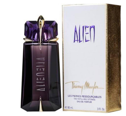 Alien Perfume by Thierry Mugler for Women EDP 2 oz Refillable New In Box