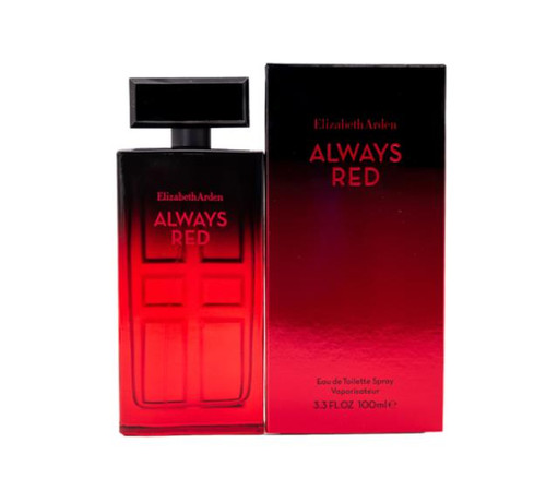 Authentic Always Red Perfume by Elizabeth Arden for Women EDT 3.3 oz New In Box