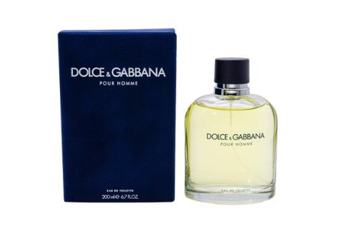 Dolce & Gabbana Pour Homme Cologne by Dolce & Gabbana Men EDT 6.7oz New In Box