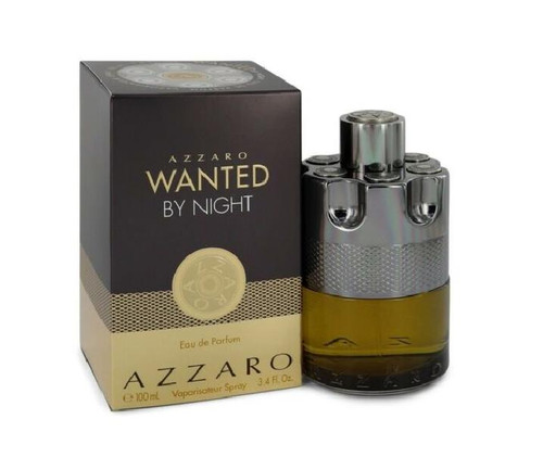 Authentic Azzaro Wanted By Night Cologne by Azzaro for Men EDP 3.4 oz New In Box