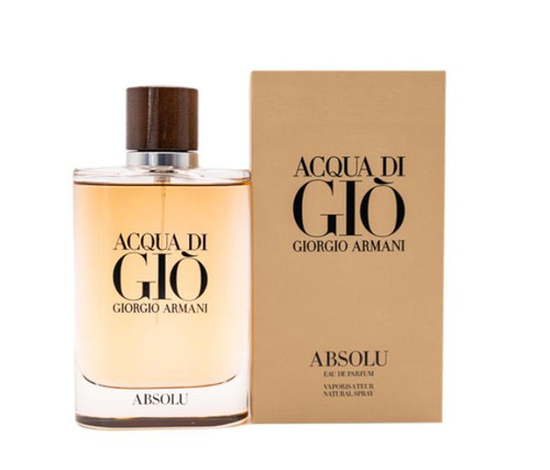 Acqua Di Gio Absolu Cologne by Giorgio Armani for Men EDP 4.2 oz New In Box