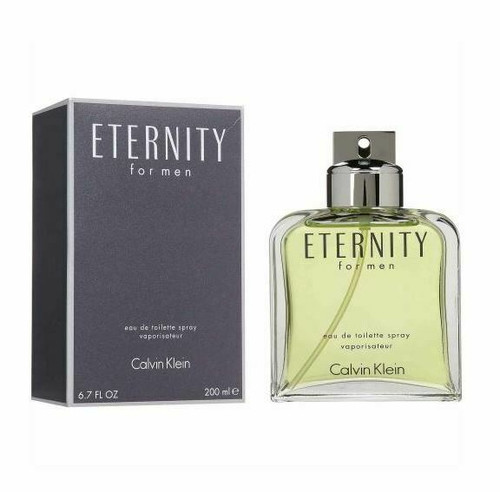 Authentic ETERNITY for Men by CALVIN KLEIN 6.7 oz 6.8 edt New in box