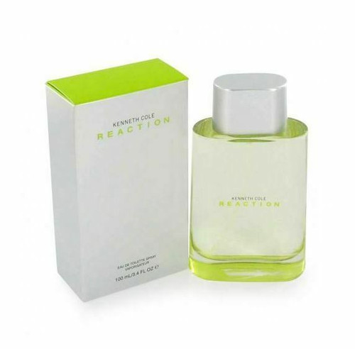 Reaction Cologne by Kenneth Cole for Men EDT 3.4 oz New In Box