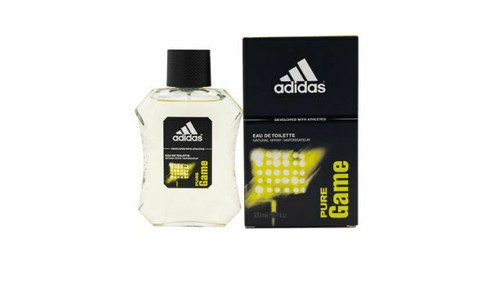 Adidas Pure Game Cologne by Adidas for Men EDT 3.4 oz New In Box.