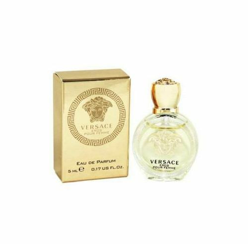 Authentic Versace Eros Perfume by Versace for Women EDP Mini 5 ml New In Box