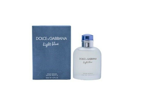 Authentic Light Blue Cologne by Dolce & Gabbana for Men EDT 4.2 oz New In Box