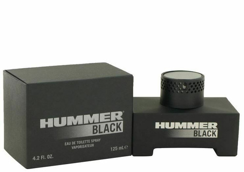 Authentic Hummer Black Cologne by Hummer for Men EDT 4.2 oz New In Box
