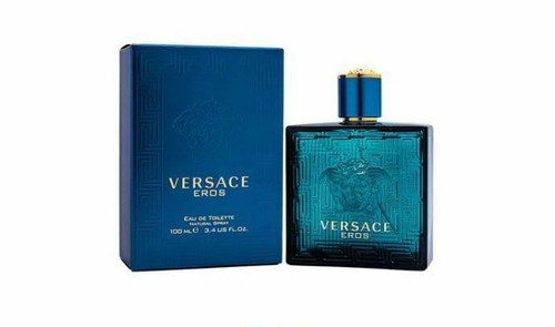 Versace Eros Cologne by Versace for Men EDT 3.4 oz New In Box
