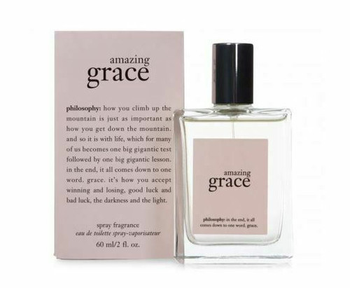 Authentic Amazing Grace Perfume by Philosophy for Women EDT 2 oz New in Box