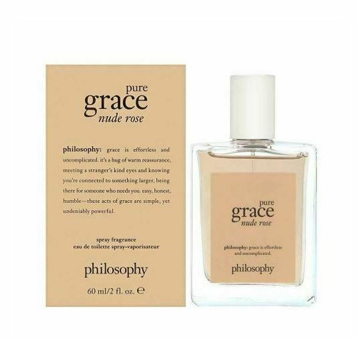 Pure Grace Nude Rose Perfume by Philosophy for Women EDT 2 oz New In Box