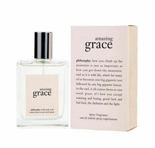 Authentic Amazing Grace Perfume by Philosophy for Women EDT 6 oz New in Box
