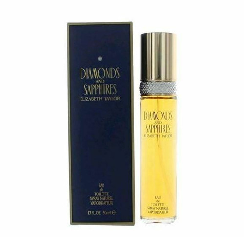 Diamonds & Saphires Perfume by Elizabeth Taylor for Women EDT 1.7 oz New In Box