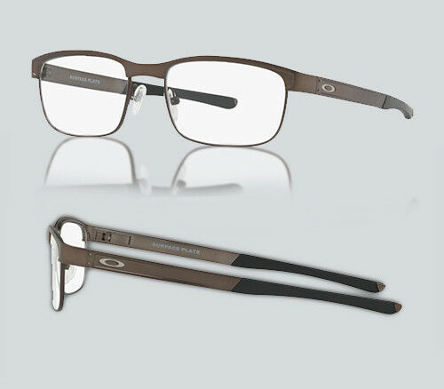 Authentic 0OX 5132 SURFACE PLATE 513202 PEWTER Eyeglasses