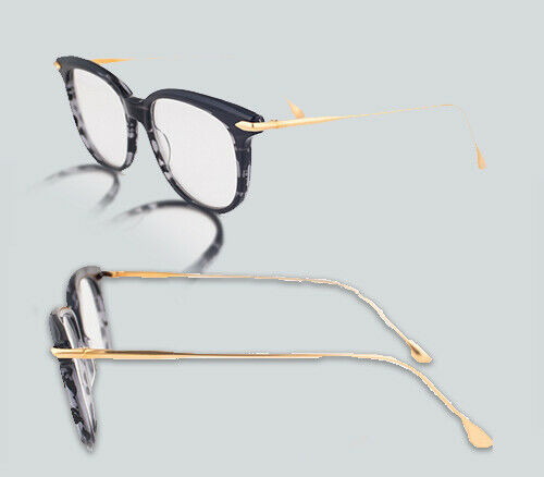 Authentic Dita Chic DRX 3035 A Black Gold Eyeglasses