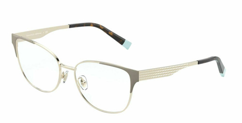 Authentic Tiffany & Co. 0TF1135 6133 Pale Gold/Camel Eyeglasses