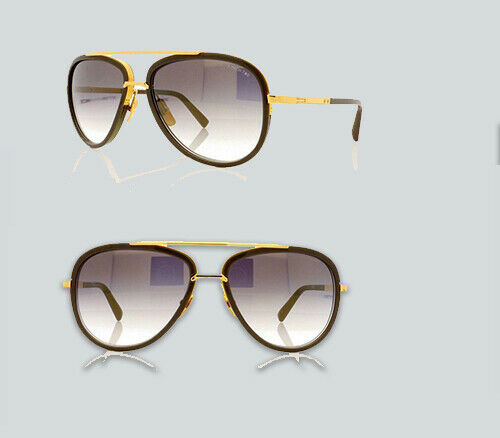 Authentic Dita Mach Two 2031 G Grey/Gold Sunglasses