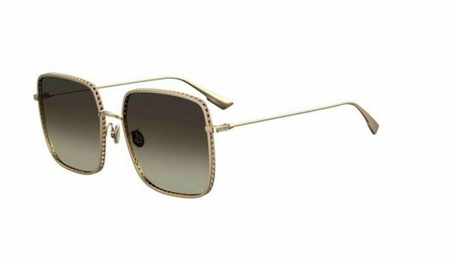 Authentic Christian Dior Diorbydior 3F 0000/86 Rose Gold Sunglasses