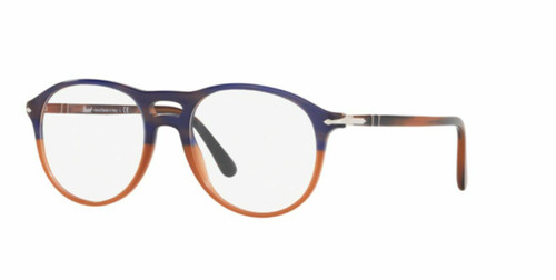 Authentic Persol 0PO3202V-1066 Blue Striped Orange gradient 3202 Eyeglasses