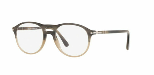 Authentic Persol 0PO3202V-1065 Grey Striped Beige gradient 3202 Eyeglasses