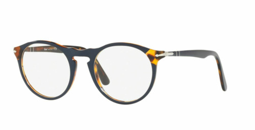 Authentic Persol 0PO3201V-1095 Blue/Havana 3201 v Eyeglasses