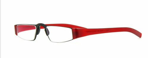 Porsche Design 8801 B Red/Black Reading Glasses (+1.00, 1.50, 2.00, 2.50)