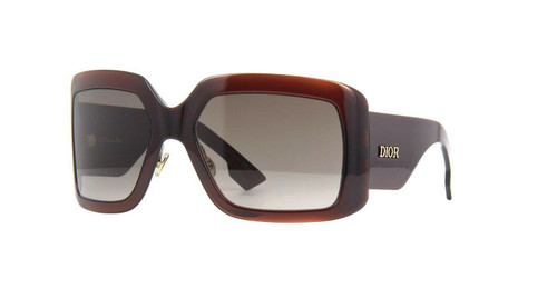 Authentic  Christian Dior So light 2 009Q/HA Brown Sunglasses