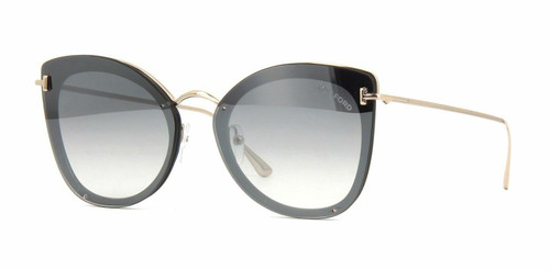 Authentic Tom Ford  FT 0657 Charlotte 01C Grey Sunglasses