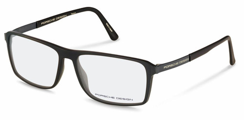 Authentic Porsche Design P 8259 A Black Eyeglasses