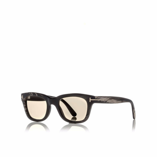 Authentic Tom Ford Tom N.5 62E Private Collection Brown Real Horn Sunglasses