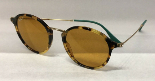 Authentic Ray Ban 0RB2447 ROUND/CLASSIC 1244N9 YELLOW HAVANA Polar Sunglasses