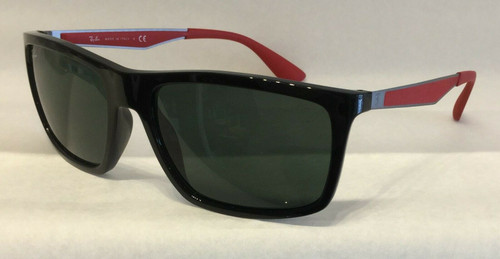 Authentic Ray Ban 0RB 4228 M F60171 BLACK Sunglasses