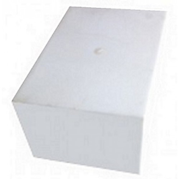 2 Gallon Rectangle Plastic Tank | W-364