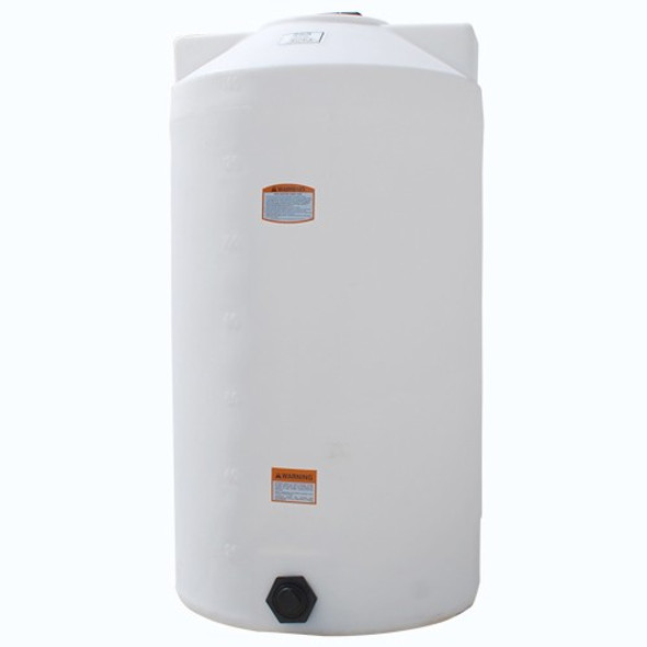 150 Gallon Vertical Plastic Storage Tank | 41859