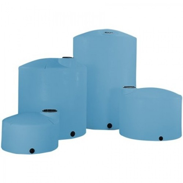 1250 Gallon Heavy Duty Vertical Plastic Storage Tank | 44358