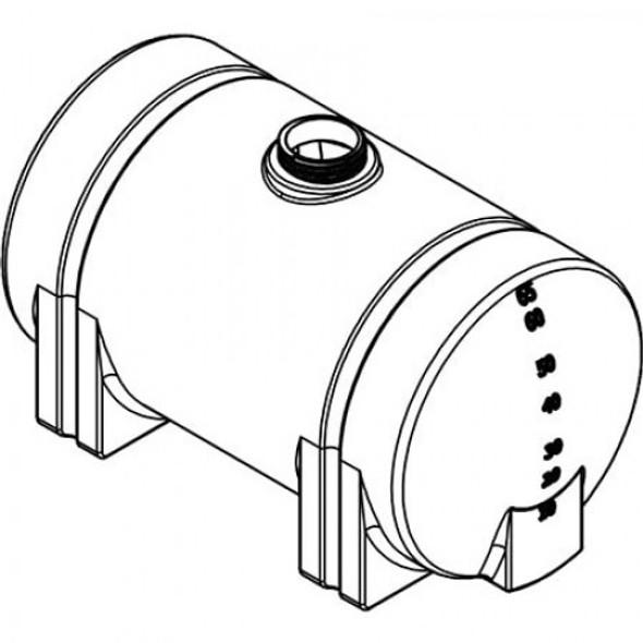 65 Gallon Horizontal Leg Tank | 45191