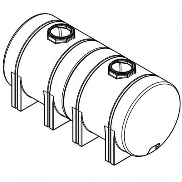 1800 Gallon Horizontal Leg Tank | 42992